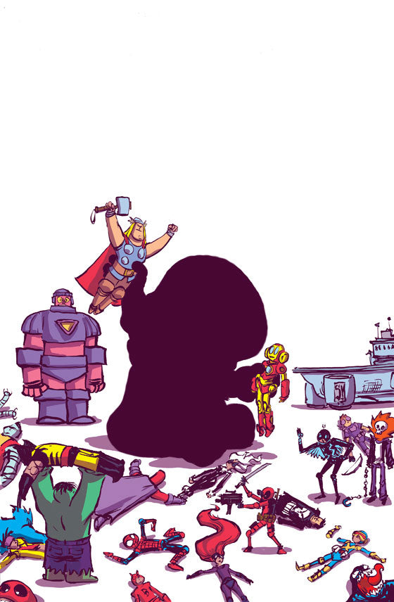 SECRET WARS #1 (OF 9) YOUNG VAR