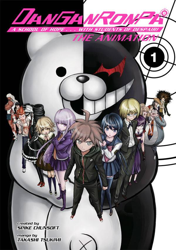 DANGANRONPA THE ANIMATION TP VOL 01 (C: 1-1-2)