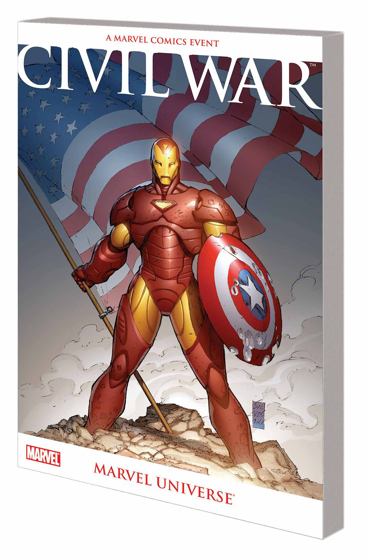 CIVIL WAR MARVEL UNIVERSE TP NEW PTG