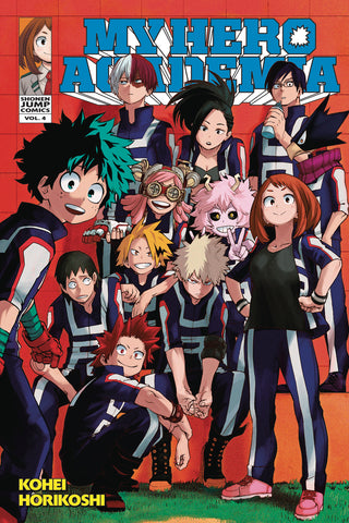 MY HERO ACADEMIA GN VOL 04 (C: 1-0-1)