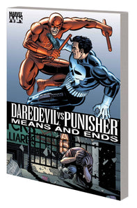 DAREDEVIL VS PUNISHER MEANS AND ENDS TP NEW PTG