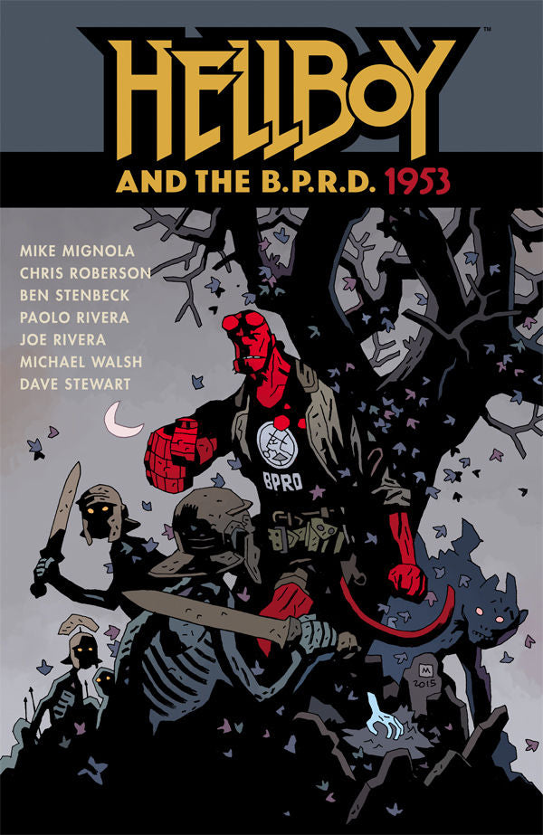 HELLBOY AND THE BPRD 1953 TP (C: 0-1-2)