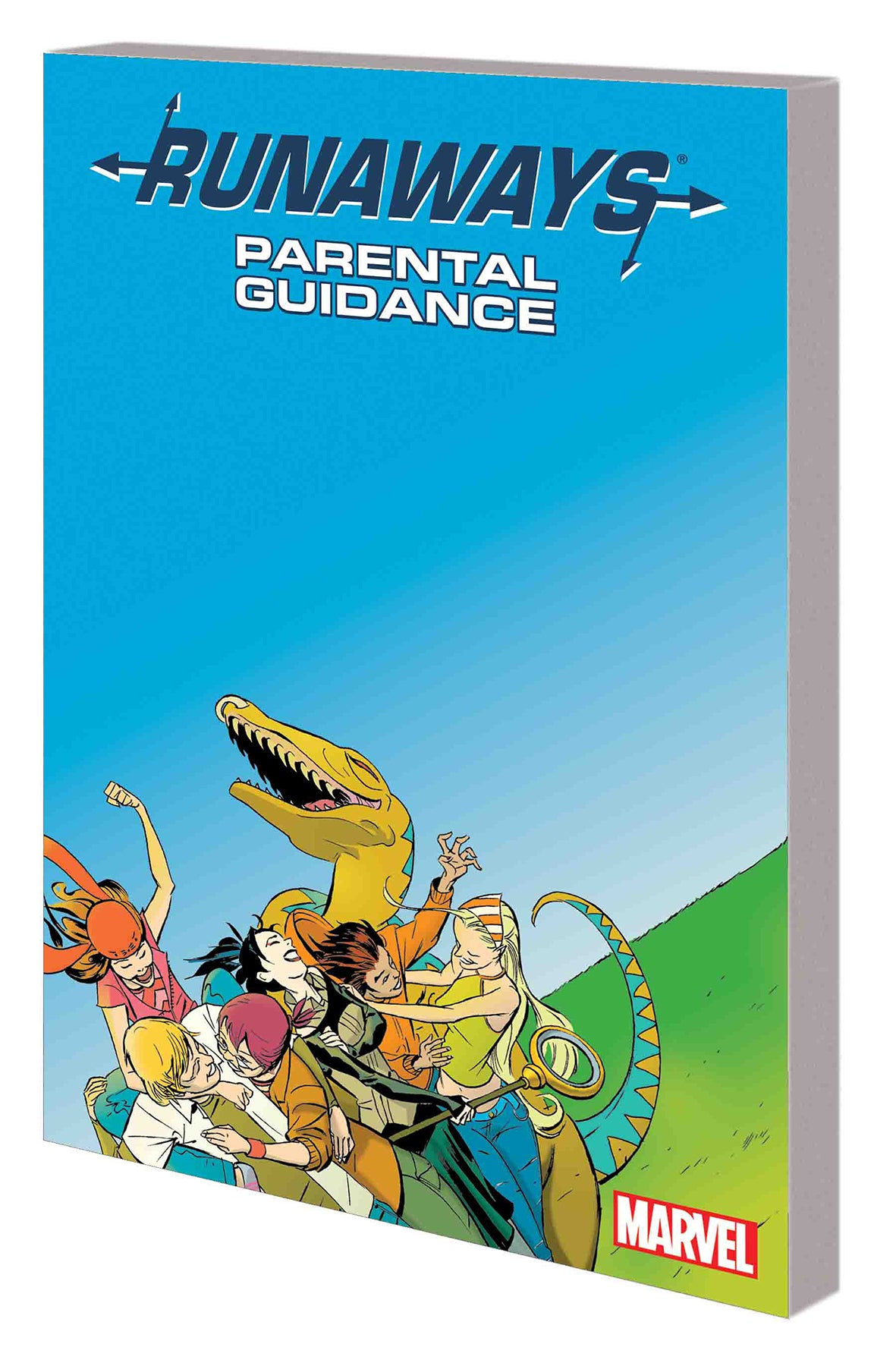 RUNAWAYS TP VOL 06 PARENTAL GUIDANCE NEW PTG