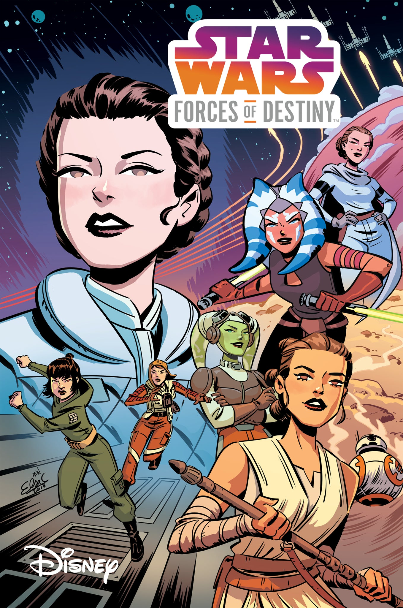 STAR WARS ADVENTURES FORCES OF DESTINY TP (C: 1-0-0)