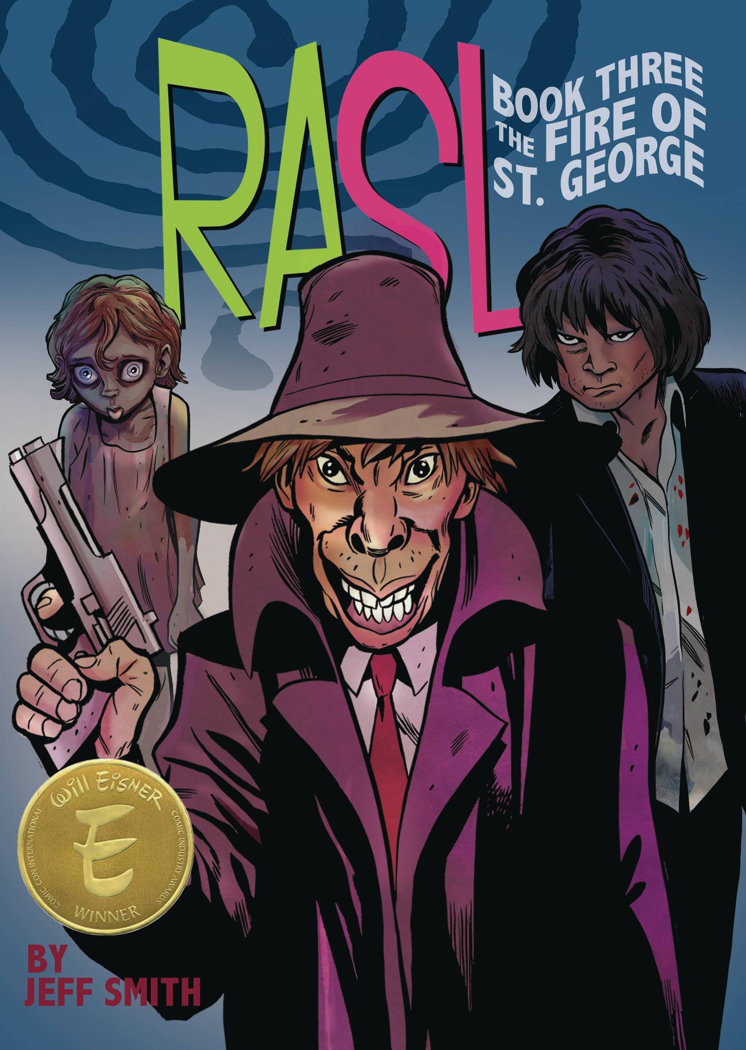 RASL COLOR ED TP VOL 03 (OF 3) FIRE OF ST GEORGE (MR) (C: 1-