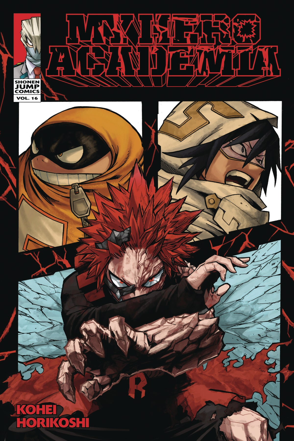 MY HERO ACADEMIA GN VOL 16 (C: 1-0-1)