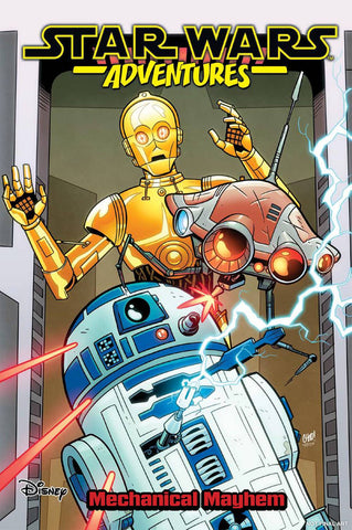 STAR WARS ADVENTURES TP VOL 05 MECHANICAL MAYHEM (C: 1-1-2)