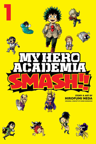 MY HERO ACADEMIA SMASH GN VOL 01 (C: 1-1-2)