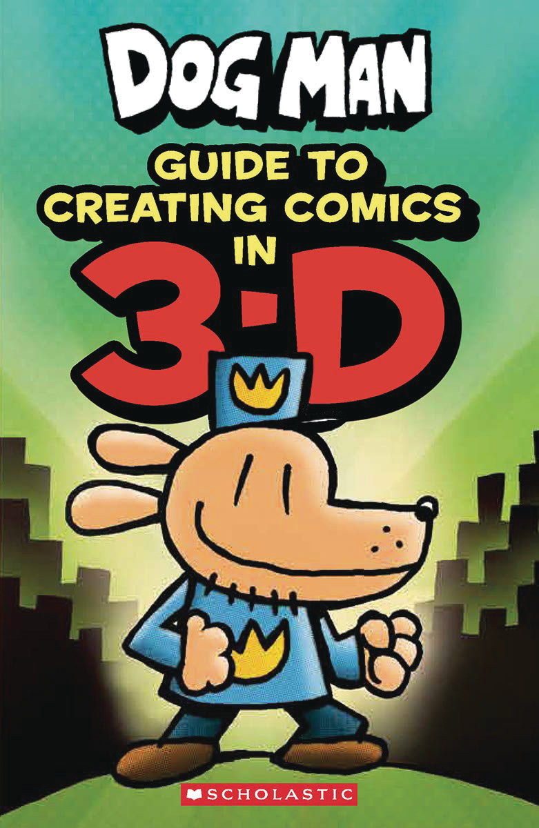 DOG MAN GUIDE TO CREATING COMICS IN 3-D (C: 0-1-0)