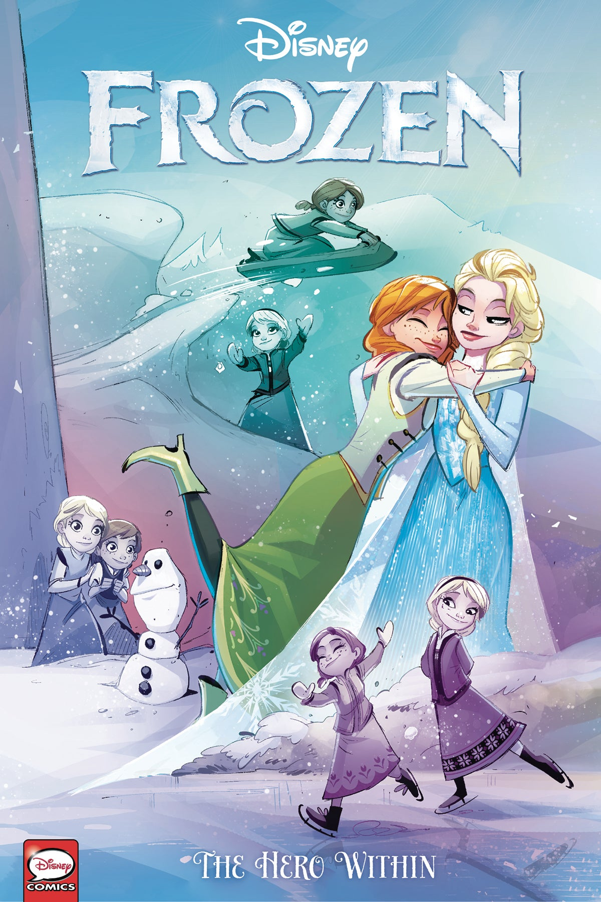 DISNEY FROZEN HERO WITHIN TP (C: 1-1-2)