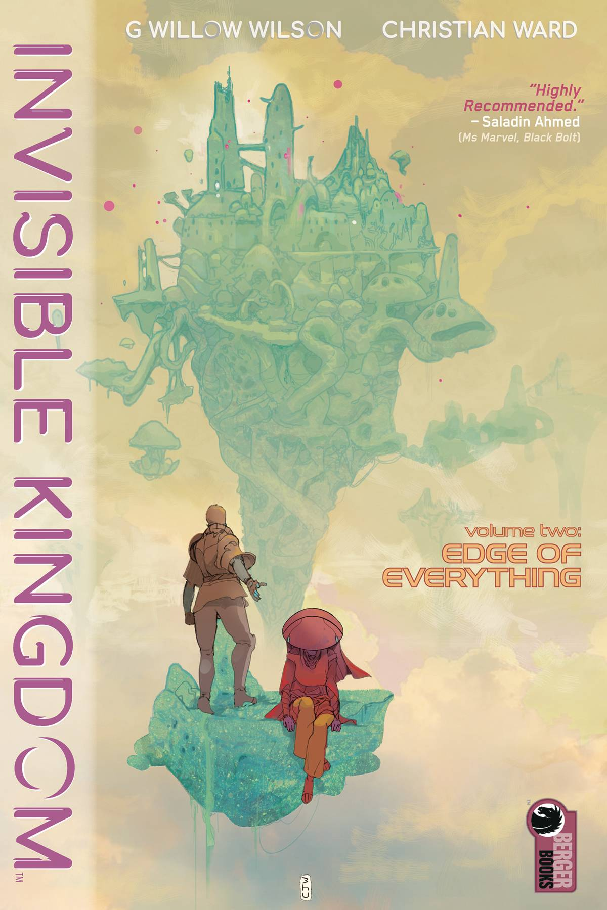 INVISIBLE KINGDOM TP VOL 02 EDGE OF EVERYTHING (MR) (C: 0-1-