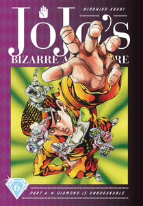 JOJOS BIZARRE ADV 4 DIAMOND IS UNBREAKABLE HC VOL 06