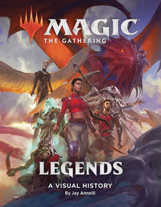 MAGIC THE GATHERING LEGENDS VISUAL HISTORY HC (C: 0-1-0)