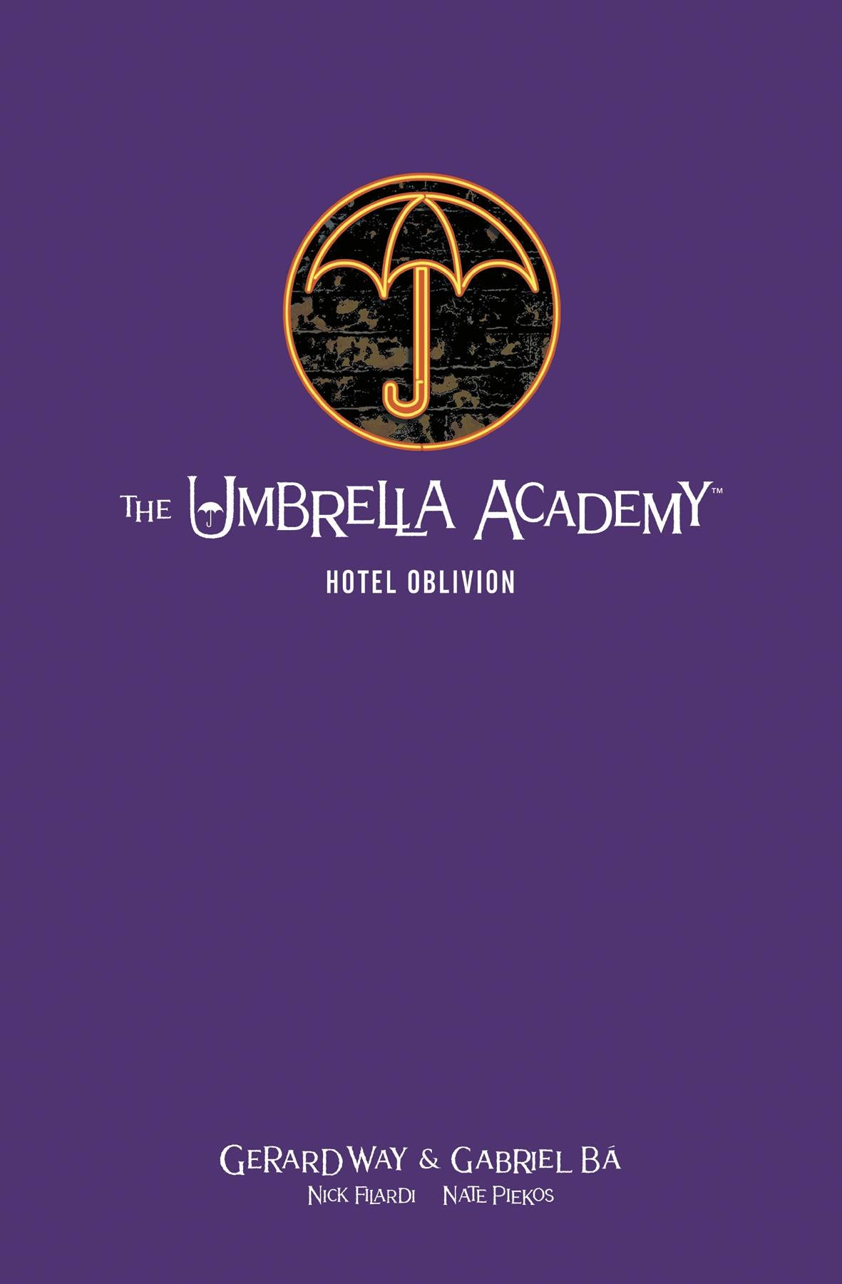 UMBRELLA ACADEMY LIBRARY EDITION HC VOL 03 HOTEL OBLIVION (C
