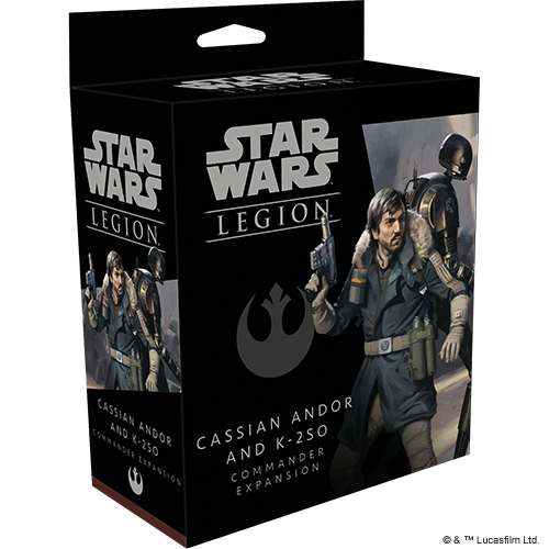 Star Wars Legion: Cassian Andor and K-2SO Commander Expansion