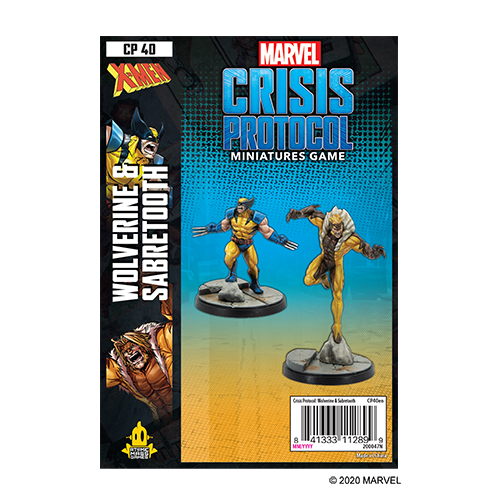 Marvel Crisis Protocol: Wolverine and Sabertooth