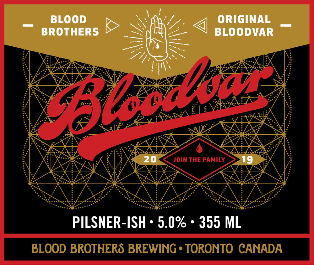 BLOODVAR • 355mL 4-PACK