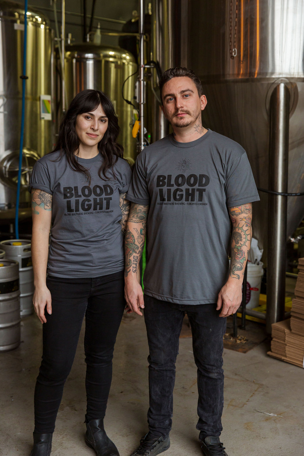 BLOOD LIGHT TEE - UNISEX