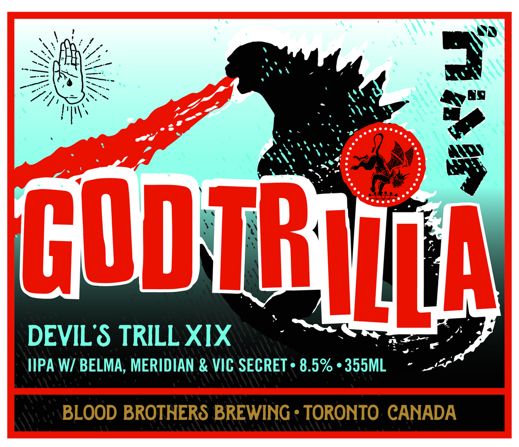 DEVIL'S TRILL XIX: GODTRILLA • 355 ML 4-PACK