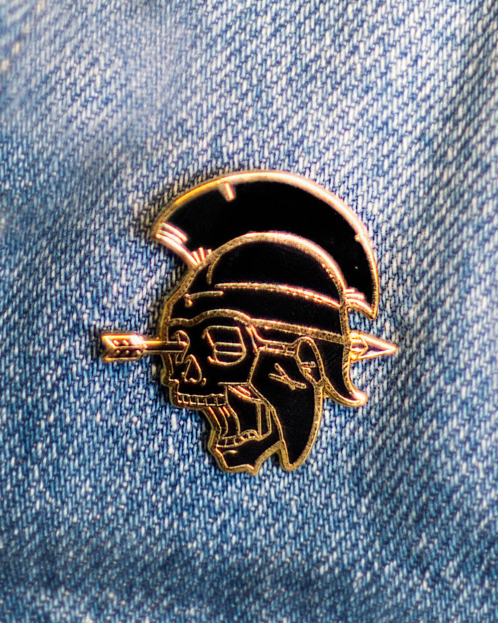 FALL OF THEBES PIN