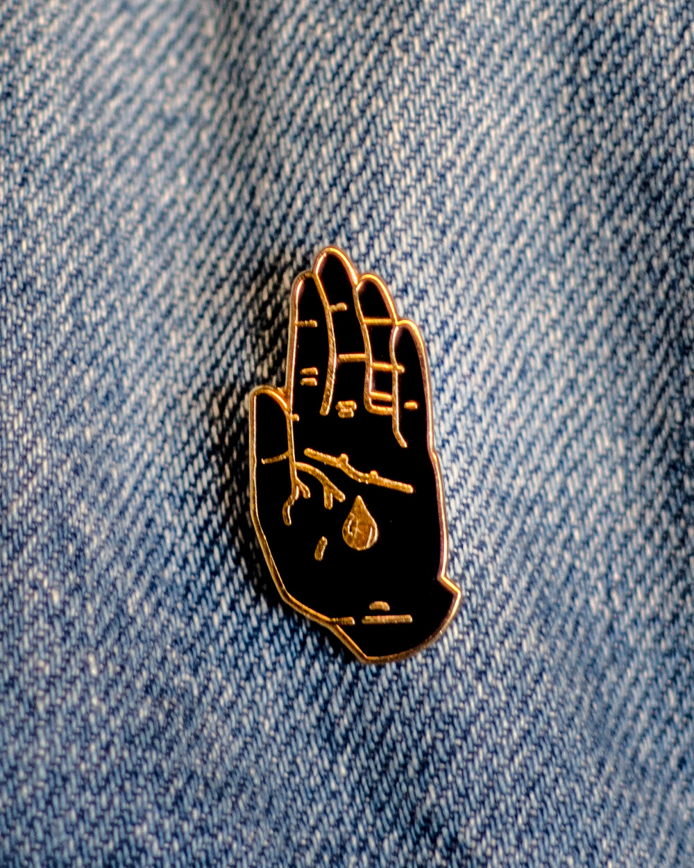 BLOOD BROTHERS LOGO PIN
