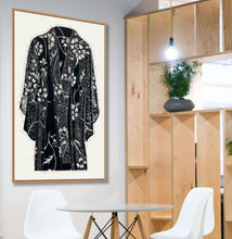 Load image into Gallery viewer, Sunflower Kimono in situ