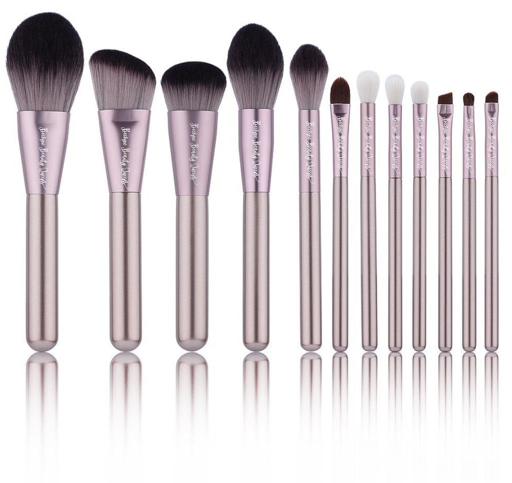 Rose Metal - 12 Piece Brush Set