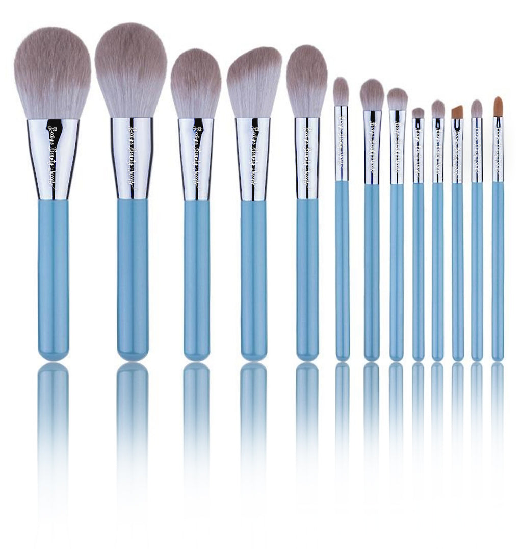 Blue Mist - 13 Piece Synthetic Brush Set