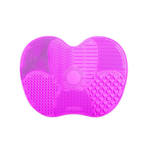 Load image into Gallery viewer, Makeup Brush Cleaner Mat-  Teal or Purple