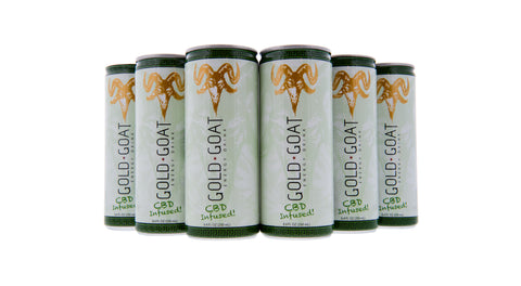 What are CBD Beverages CBD Infused Energy Drink Gold Goat Energy