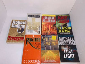HARDCOVER Book Lot Set INSTANT COLLECTION FREE SHIPPING 10lbs General Fiction