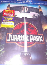 Load image into Gallery viewer, Jurassic Park 3D/Lost World:Jurassic Park/Jurassic Park 3 (Blue-Ray/DVD Set)