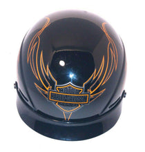 Load image into Gallery viewer, Harley Davidson HD-16 Glossy Half Helmet XXL DOT Certified FREE S/H