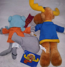 Muat gambar ke penampil Galeri, Toy Network Stuffed Plush Animal Toy Rocky and Bullwinkle WU Happy Halloween