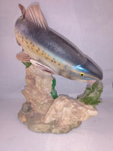 Load image into Gallery viewer, Bull Trout Ceramic Hand Painted Figurine