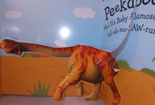 Load image into Gallery viewer, Pop-Up Peekaboo! Baby Dinosaur Children's Board Book