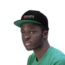 Load image into Gallery viewer, Felony Freedom Snapback Hat Company Logo Swagger