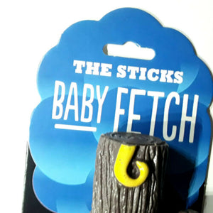 "The Sticks Dog Toy FetchStick Floating Recycled Rubber ""Baby Fetch"" by I AM DOG"