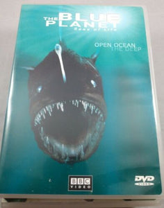 THE BLUE PLANET - SEAS OF LIFE COLLECTORS SET PARTS 1-4 DVD