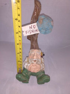 "David Frykman The Fisherman 7"" Figurine DF3054 Coynes & Co 1996 Retired FISHING"