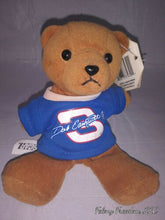 Load image into Gallery viewer, Nwt Nascar Pit Pals Dale Earnhardt #3 Small Bean Plush Bear R-18
