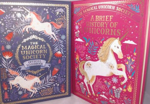 The Magical Unicorn Society Book Lot of 2 by Selwyn E. Phipps 1st Edition HC