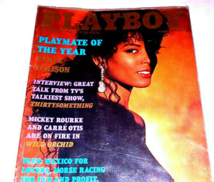 Playboy Magazine June 1990