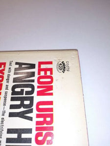 THE ANGRY HILLS Leon Uris SIGNET D 1879 War 6th Edition