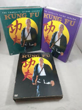 Load image into Gallery viewer, Kung Fu: Seasons 1, 2, 3 Every Episode Complete Series DVDS