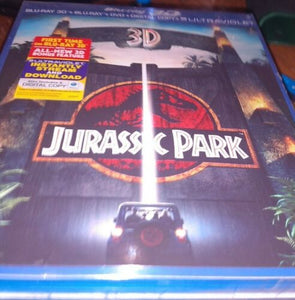 Jurassic Park 3D/Lost World:Jurassic Park/Jurassic Park 3 (Blue-Ray/DVD Set)