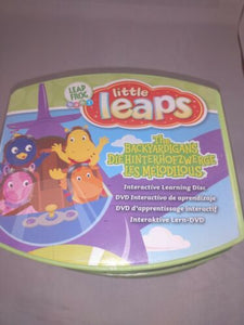 LeapFrog Baby Little Leaps 7 DVD Lot Winnie Dora Thomas Backyardigans
