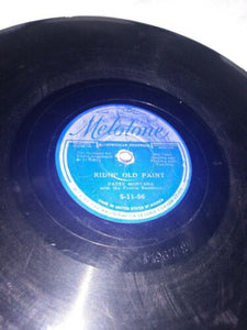 Patsy Montana - Pre-War Country 78 RPM - Ridin' Old Paint /Wanna Be Cowboy's..