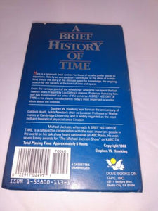 Stephen Hawking A Brief History Of Time Audiobook Read By Michael Jackson Tapes