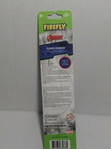 Firefly 3D Turbo Power Marvel Avengers Electric Toothbrush Soft Black Panther